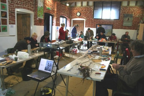 Grafting Course held by Suffolk Traditional Orchard Group in 2013