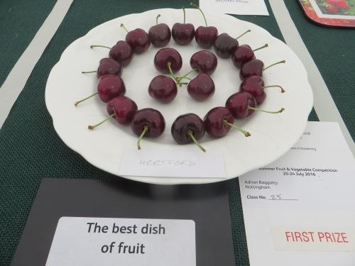 'Best in Show', RHS Tatton Park Show July 2016; Hertford cherries